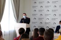 Очередная встреча студентов Политеха с представителем МВД