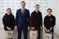 Александр Агафонов встретился с КВНщиками Политеха