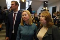 Александр Агафонов посетил выставку