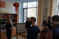 Национальная библиотека встретила студентов Политеха