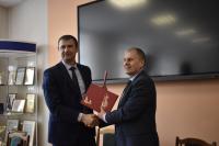 Состоялось подписание договора о сотрудничестве с ЧТСГХ